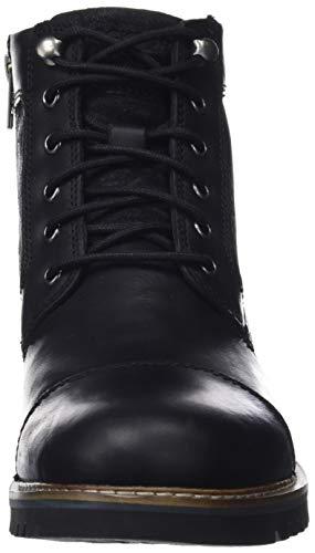 Noir Homme Toe Black Marshall 001 amp; black Bottines Classiques Cap Bottes R Rockport 4xaq14