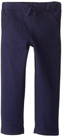 Egg by Susan Lazar Little Boys' French Terry Pant, Navy, 2T