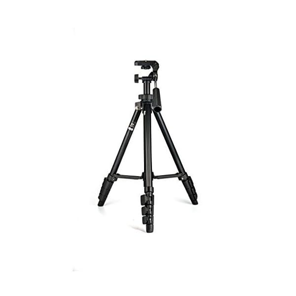 RetinaPix Benro T560 56.5 Inch Digital SLR Camera Aluminium Travel Portable Tripod with Carry Bag