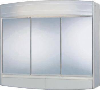 Sieper-Werke 5459000 Spiegelschrank Topas Eco weiß: Amazon ...
