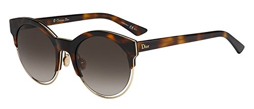 Christian Dior Women's Sunglasses CDSideral1S 53mm Havana Rose Gold - Sunglasses Dior Havana