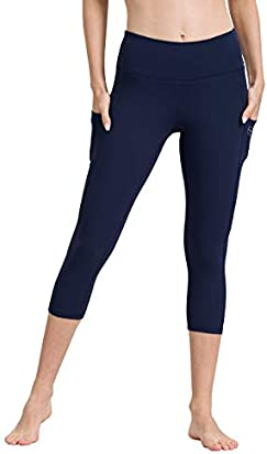 ALONG FIT Yoga Pants for Women with Cell Phone Pockets Leggings Tummy Control Yoga Leggings