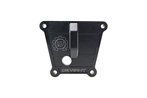 (Deviant Billet Radius Arm Plate with D-Ring for 2018+ Polaris RZR XP Turbo S)