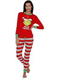 The Grinch Ladies Pajamas for Women (Small)