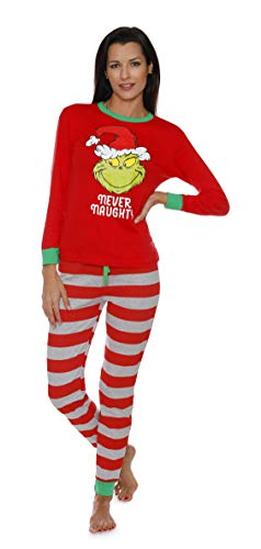 Dr. Seuss The Grinch Ladies Pajamas for Women (Large) for sale  Delivered anywhere in USA
