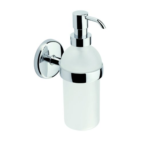 Ginger 0314-G Soap / Lotion Dispenser from the Hotelier Collection, Polished Chrome
