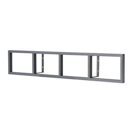 Porta Cd Dvd Metallo.Ikea Dvd Cd Di Regal Lerberg Grigio Scuro Acciaio Amazon It