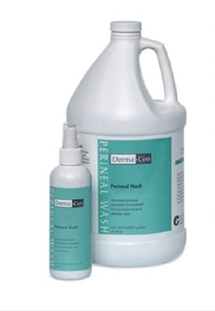 DermaCen Foaming Rinse-Free Perineal Wash, 9 oz. Pump Bottle Melon Scent by Central Solutions