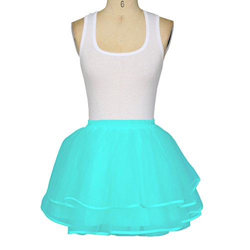 Bridal Blue Mini Skirts Wedding Planning Women's Light Homecoming Tulle ACfUqx