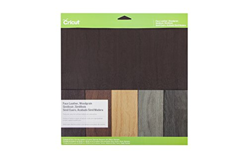 Cricut 2002937 Faux Leather Woodgrain