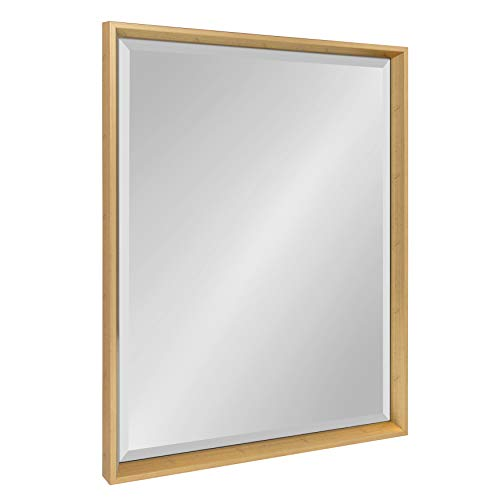 Kate and Laurel Calter Framed Wall Mirror, 23.5x29.5, Gold