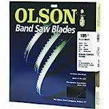 Olson Saw FB19293DB 3/8 by 0.025 by 93-1/2-Inch HEFB Band 4 TPI Skip Saw Blade