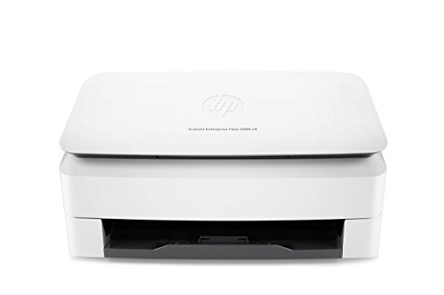 HP ScanJet Enterprise Flow 5000 s4 Sheet-feed Desktop Scanner (L2755A) (Renewed) (Hp Scanjet Mobile Scanner)