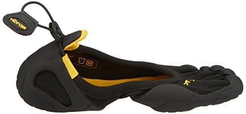 Zapatillas Mujer Classic Negro Black para Vibram Fivefingers Black de Deporte qvY5wOExf
