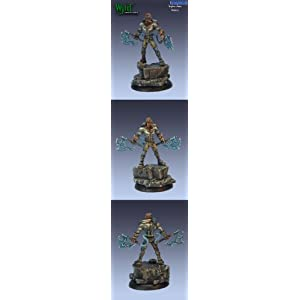 Malifaux Miniatures The Arcanists – Injun Joss – Steampunk Warrior