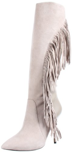Joker High Boot Boutique 9 Light Grey Knee Women's qxZEWwC4