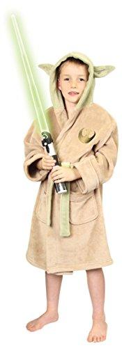 [Groovy Uk Kids Star Wars Yoda Bathrobe Small (4-5yrs)] (Yoda Costume Child)