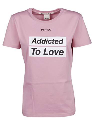 Mujer Rosa Algodon T 1g14ydy5bdo99 shirt Pinko Fxw0pqwd