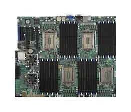 Supermicro A+ H8QGi-F Motherboard 4-Way Opteron 6000 Socket G34 12-Core DDR3 SATA2 RAID IPMI GbE PCIe SWTX MBD-H8QGI-F - Opteron Pcie Motherboard