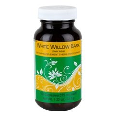 White Willow Bark 100 Capsules (375 mg each (375 Mg 100 Capsules)