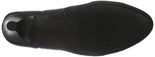 Caprice 22402 - Zapatos de Tacón Mujer Azul (OCEAN REPTILE 806)