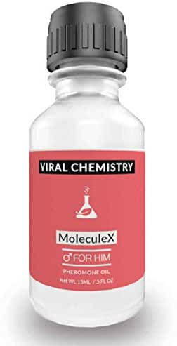 Pheromones to Attract Women for Men (Molecule X) Cologne Oil - Bold, Extra Strength Human Pheromones Formula by ViralChemistry - 15ml Concentrate (Human Grade Pheromones to Attract Women)