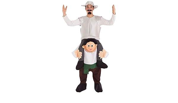 Creaciones Llopis Disfraz de Don Quijote a Hombros de Sancho para ...