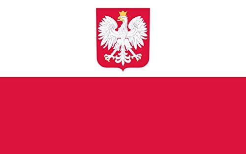 Poland Eagle Flag 3