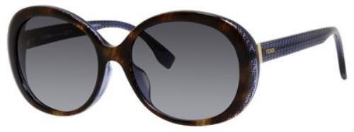 FENDI Sunglasses 0001/F/S 07OY Havana Black Blue - Online Sale Fendi