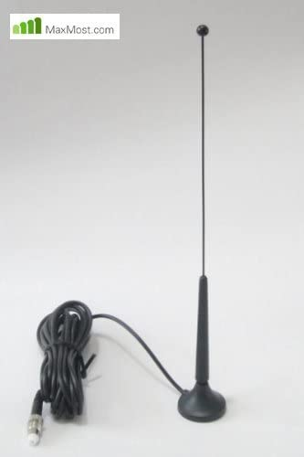 Maxmostcom Antena magnética externa con adaptador pasivo ...