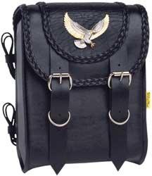 Willie & Max Black Magic Sissy Bar Bag - SBB411-5