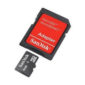 memoria micro sd 4 gb - 1