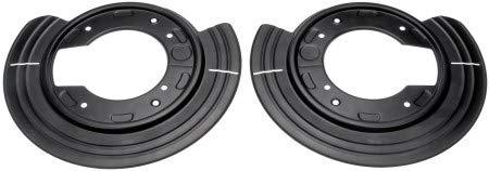 Dorman 924-230 1PR. Rear L&R Brake Dust Shield Backing Plate 1L2Z2C028AB, 29AB