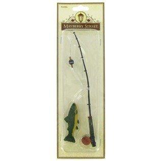 Miniature Fishing Pole with Fish -