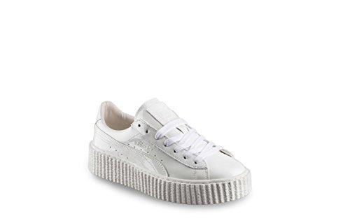 Mens Penty Fenty Di Rihanna Basket Bianco Rampicanti Lucido U 36327501 Scarpe