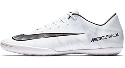 Nike Herren MercurialX Victory VI CR7 IC Fußballschuh Blauer Farbton / Schwarz / Weiß