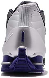 アルファブースト ショックス BB4 メンズ バスケットボール シューズ Shox BB4 OG Vince Carter Black Silver Lapis AT7843-001 [並行輸入品]