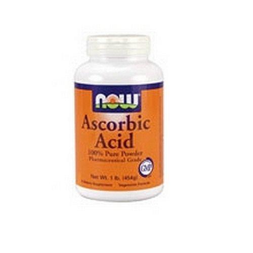 NOW Foods Vitamin C Cristaux, acide ascorbique, 1 Pound