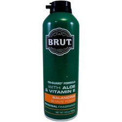 Brut Tri Guard Formula Balancing Shaving Foam - Case Pack of 12 by Brut