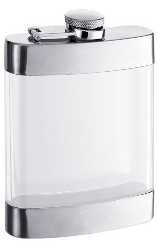Glass Hip Flask (Visol