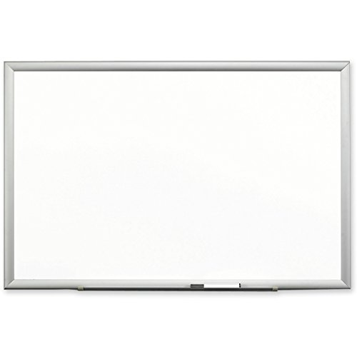 3M Porcelain Dry Erase Board, 72 x 48 Inches, Aluminum Frame (DEP7248A) by 3M