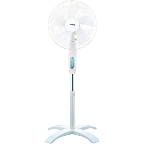 Optimus F 1760 16 Inch Wave Oscillating 3 Speed Stand Fan