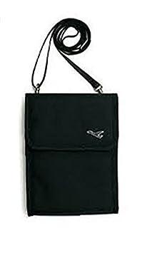 Swarish Hanging Travel Passport Holder Pouch Sling Bag