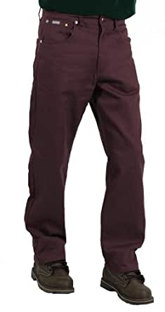 Akademiks Men's Culture Color Twill Pant, Dark Burgundy, Size 34X32
