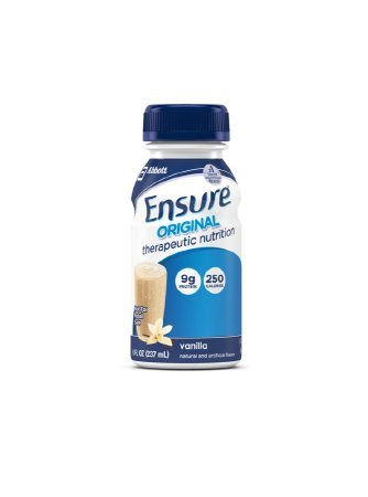 Ensure Bottles, Vanilla Shake , 8 oz Bottles, 30 count by Ensure