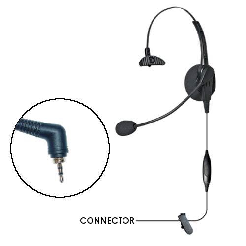 Klein Voyager Lightweight Over The Head Headset for Motorola Team Sprint Direct Connect Kyocera DuraPlus/DuraXT Series Samsung Convoy and Casio Ozone Phones