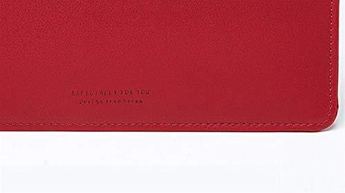 Couleur Feuilles Payonr rouge D'épaule Main Tenant Enveloppe De Mobiles Fermeture Sac Unie Glissière Type Élégantes À Mesdames A00aEwr