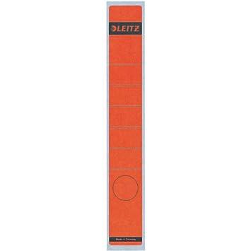 Esselte Leitz-Etichette autoadesive, dorso lungo, in carta, confezione da 10, colore: verde 16480055 LEI1648GN
