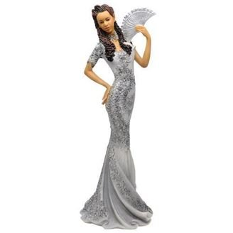 African American Expressions – Glamour Silver Dress Figurine – Glamour Series 4.8 x 4.4 x 12.8 FGL-01