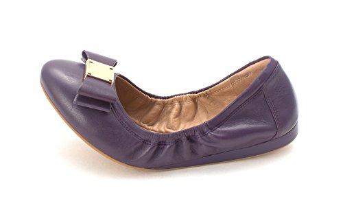 Ballet Flats Genevresam Toe Cole Grape Haan Closed Womens 4fppTF